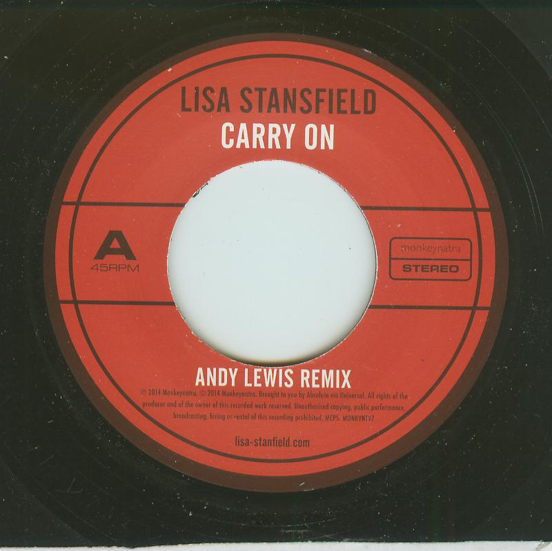 Lisa Stansfield - Carry On - Andy Lewis Remix / Carry On - Instrumental