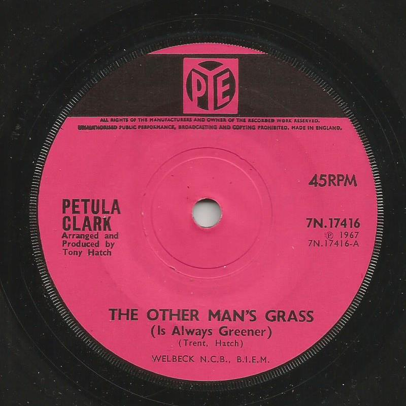 Petula Clark - The Other Man's Grass / At The Crossroads