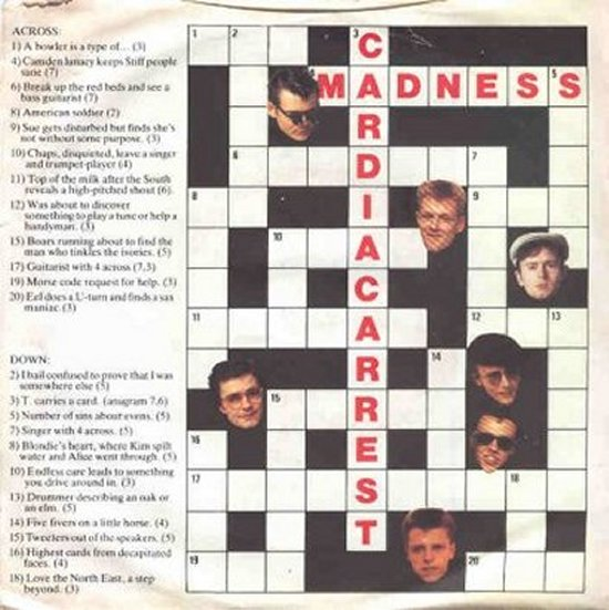 Madness - Cardiac Arrest / In The City