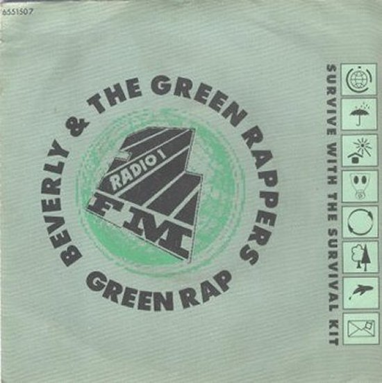 Beverly & Green Rappers - The Green Rap / Eurotech