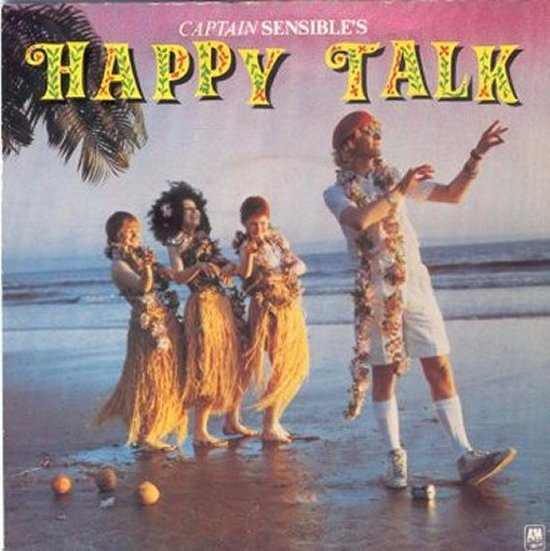 Captain Sensible - Happy Talk / It / I Can't Stand It