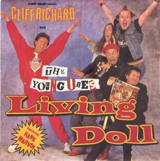 Cliff Richard & Young Ones - Living Doll / All The Little Flowers Are Happy