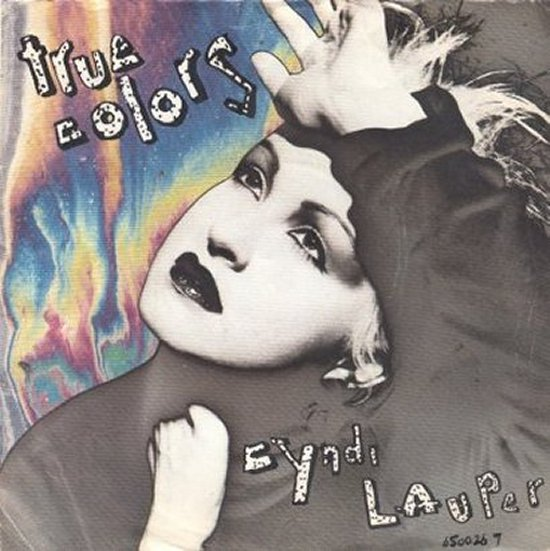 Cyndi Lauper - True Colors / Heading for The Moon