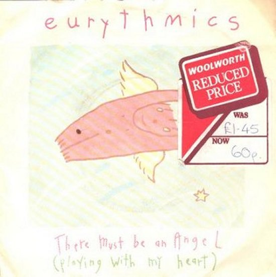 Eurythmics - There Must Be An Angel / Grown Up Girls
