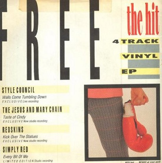 Hit Red Hot EP - Redskins / Simply Red / Style Council / Jesus And Mary Chain