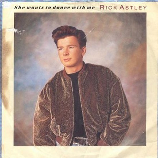 Rick Astley - She Wants To Dance With Me / She Wants To Dance With Me - Instrumental