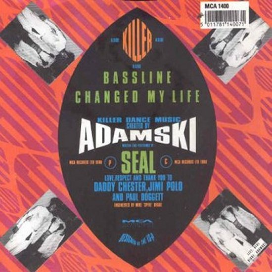 Adamski - Killer / Bass Line Changed My Life
